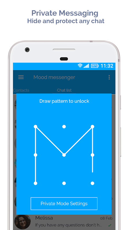 Android Mood Messenger - SMS & MMS Screen 12