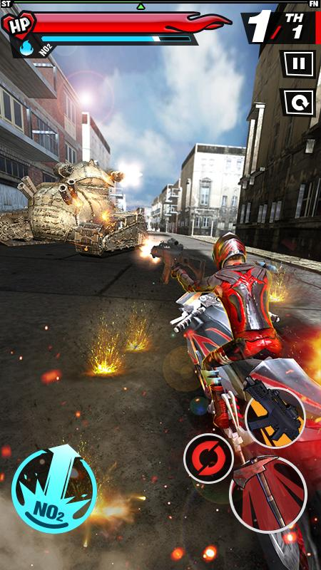 Fury Rider 1.0.3 Screen 2