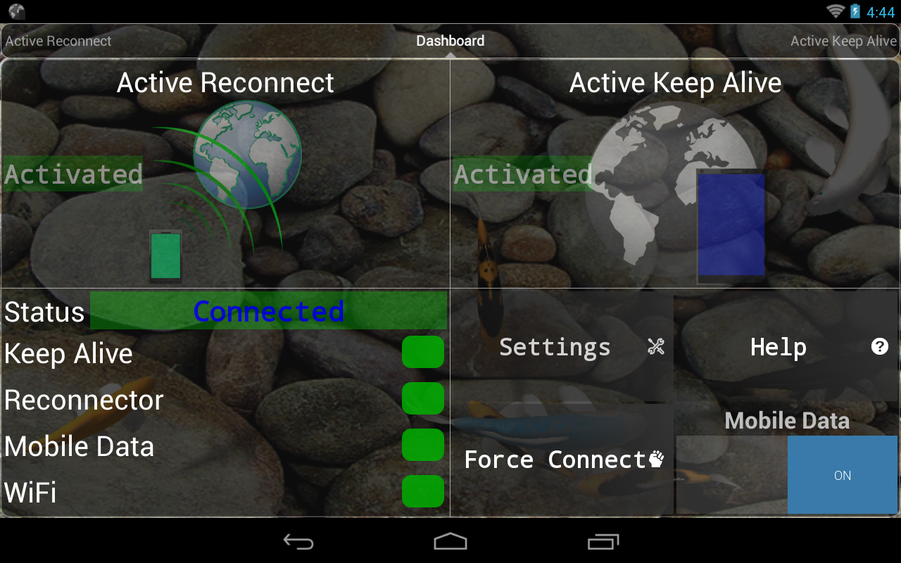Connection Stabilizer Booster 1.9.4 Screen 12