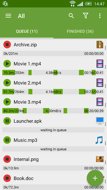 Advanced Download Manager 7.5 Screen 4