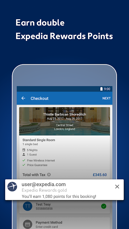Expedia Hotels, Flights, Car Hires & Activities 18.26.0 Screen 10