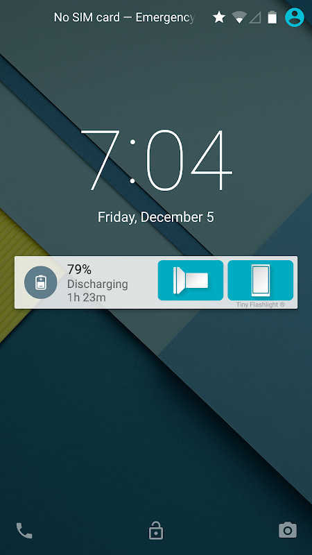 Android Torch - Tiny Flashlight ® Screen 3