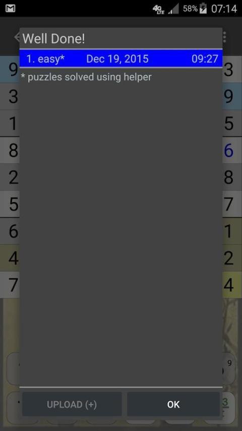 Sudoku 10.2.5.g Screen 5