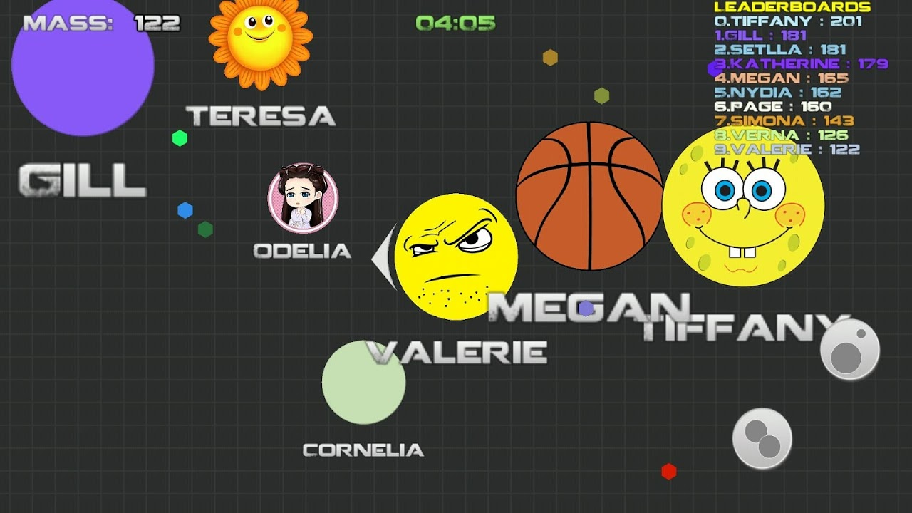 Android balls.io war like Agar.io Screen 3