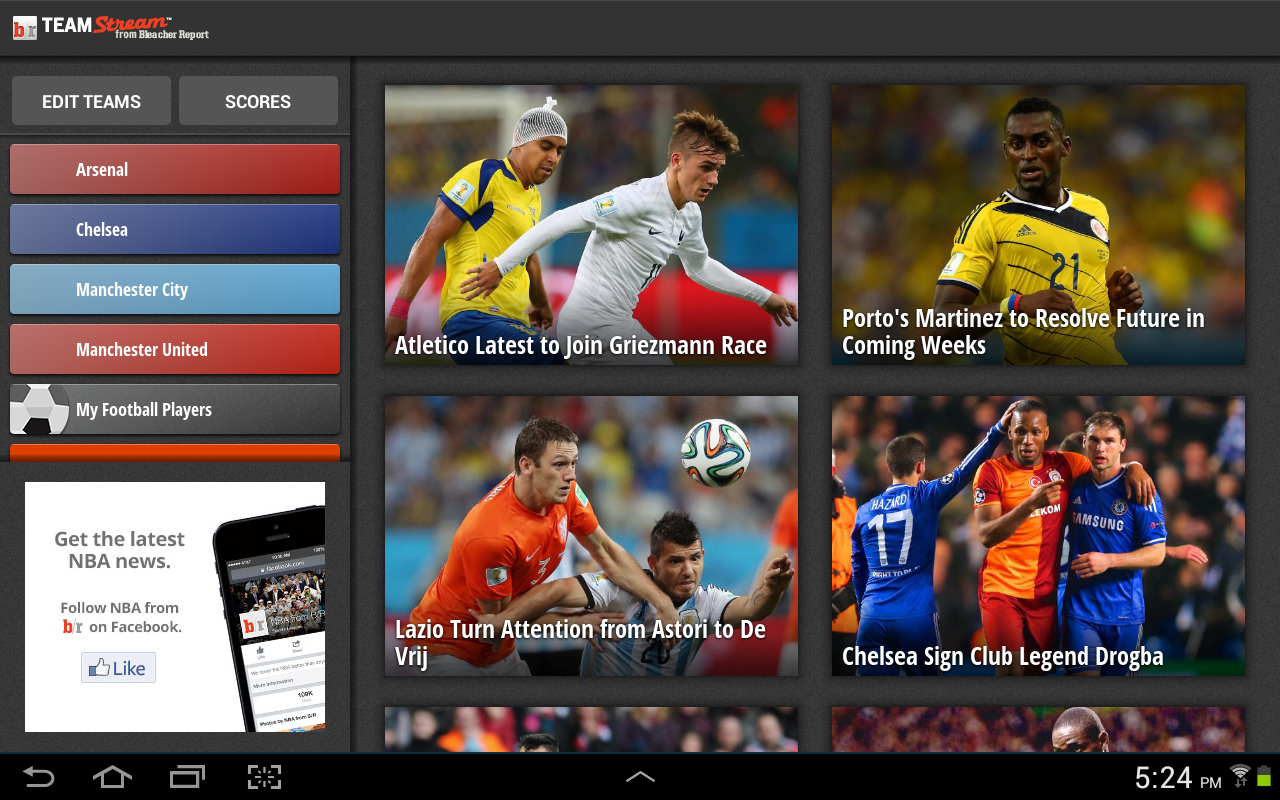 Team Stream by Bleacher Report 4.11.1 Screen 6