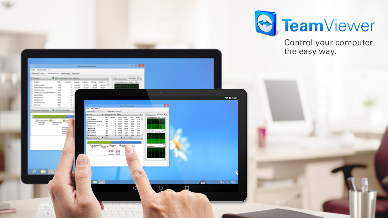 Android TeamViewer Screen 6