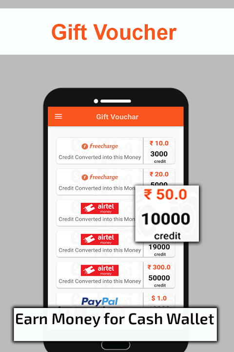 Earn Recharge Voucher 1 0 APK Download by Money Media App