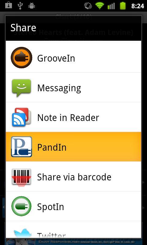 PandIn - Station Creator 0.7.0 Screen 3