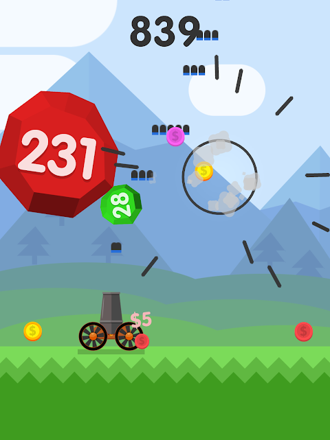 Android Ball Blast Screen 7