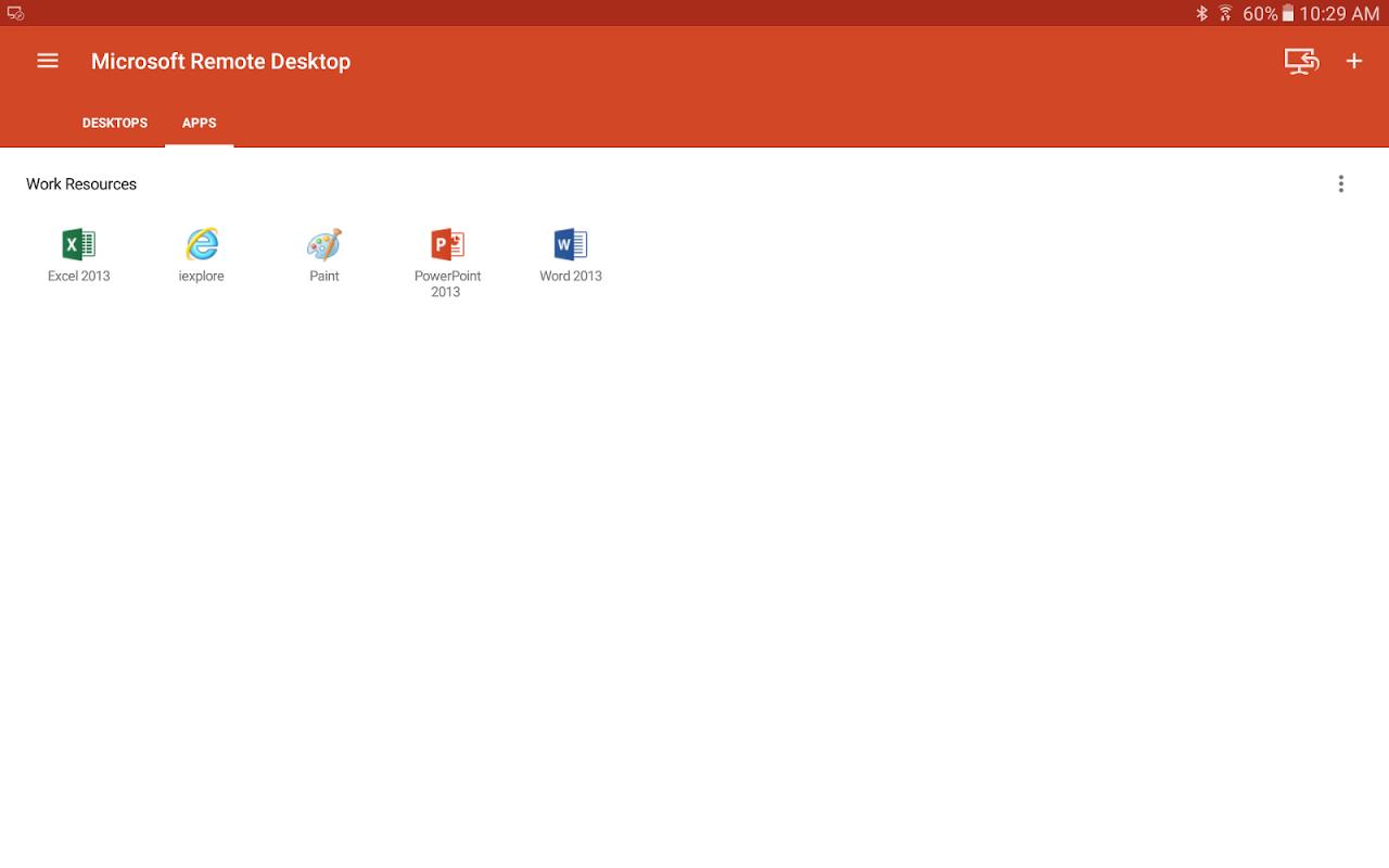 Microsoft Remote Desktop 8.1.50.255 Screen 8