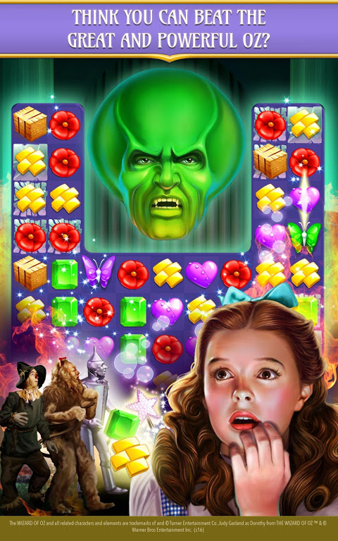 Android The Wizard of Oz Magic Match 3 Screen 10