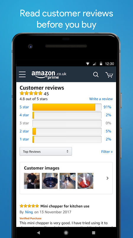 Android Amazon Shopping Screen 4