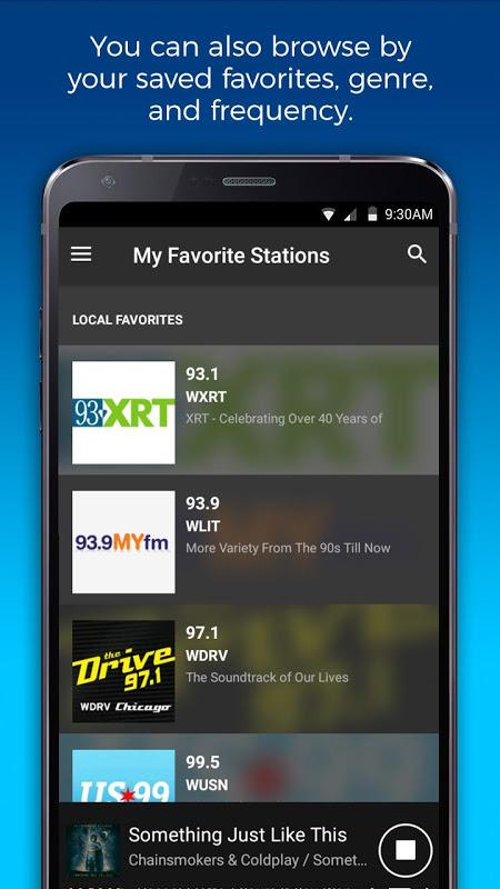 NextRadio Free Live FM Radio 6.0.2492-release Screen 1
