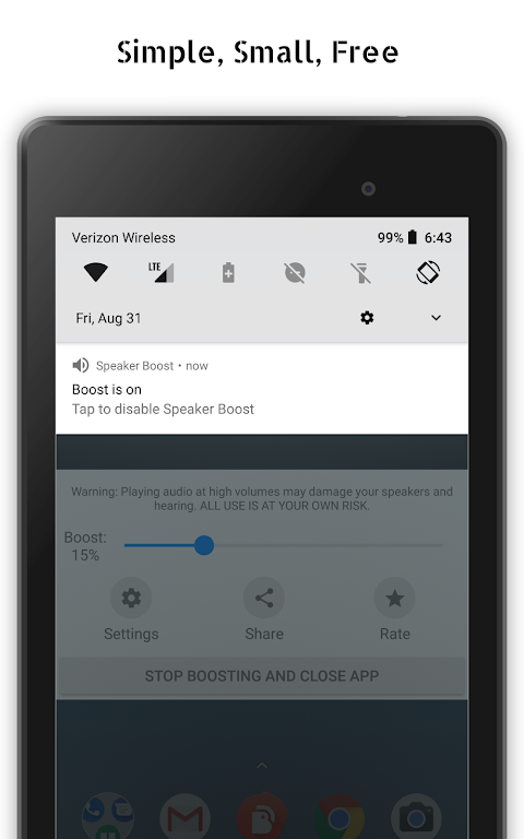 Speaker Boost - Volume Booster 3.0.11 Screen 1