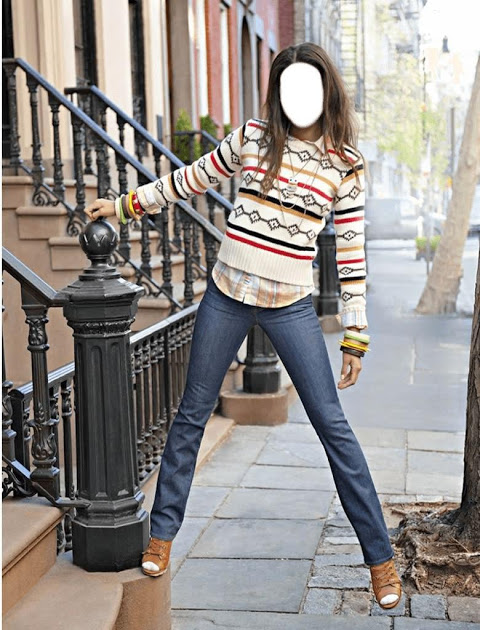 Girls Blue Jeans Selfie 1.5 Screen 3