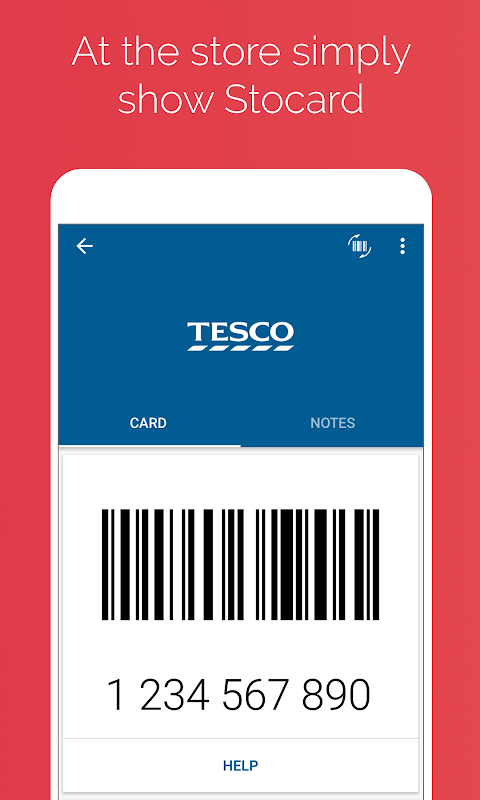 Android Stocard - Loyalty Cards Wallet Screen 1