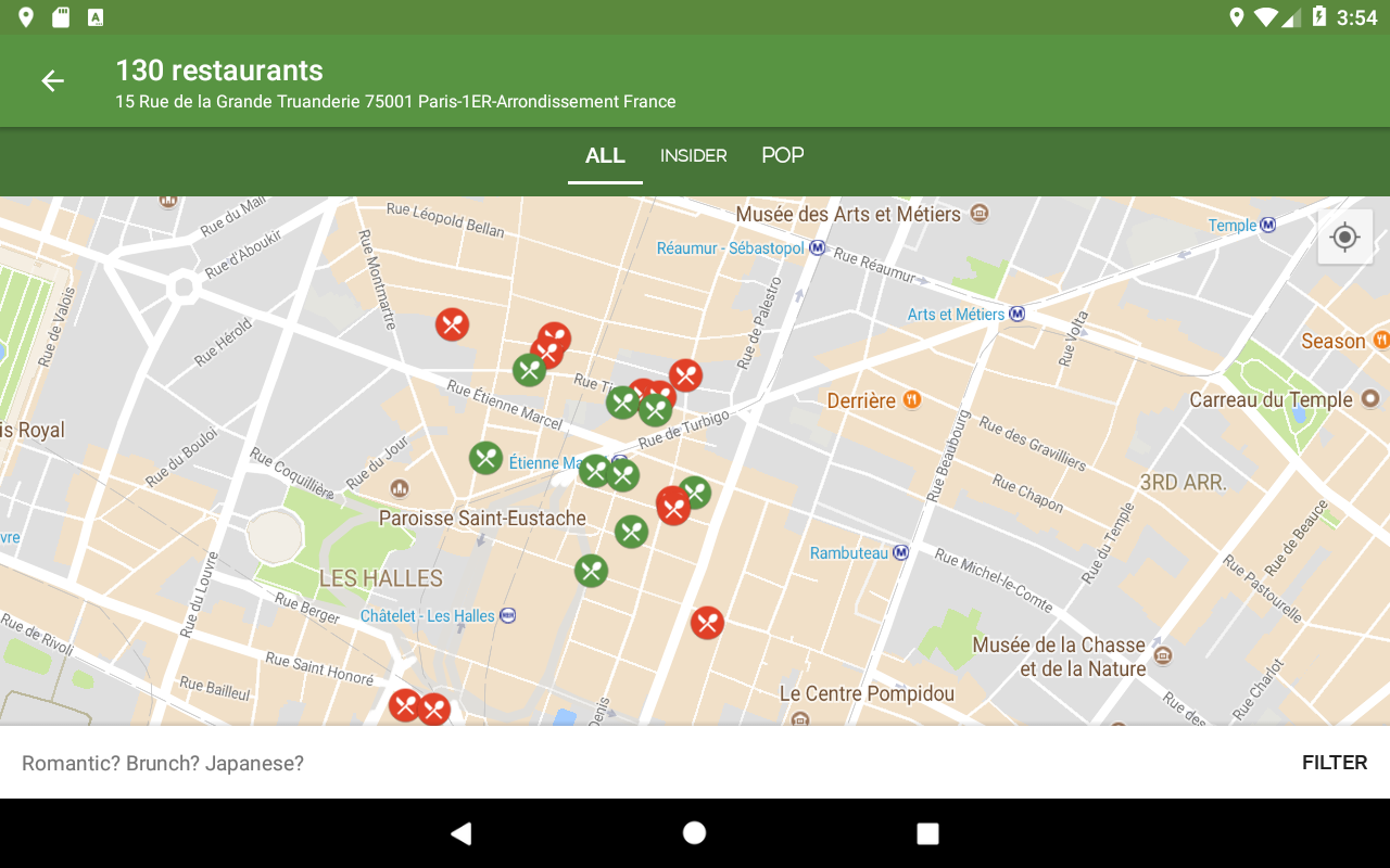 Android TheFork - Restaurants booking Screen 6