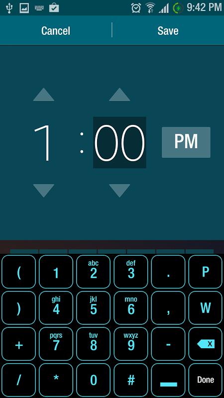 Tron style Smart Keyboard Skin APKs   Android APK