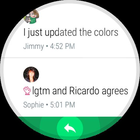 Android Hangouts Screen 7