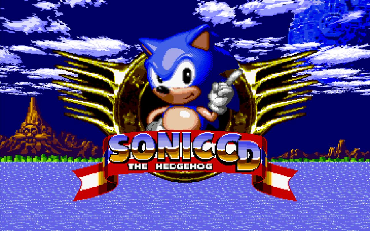 Android Sonic CD Screen 5
