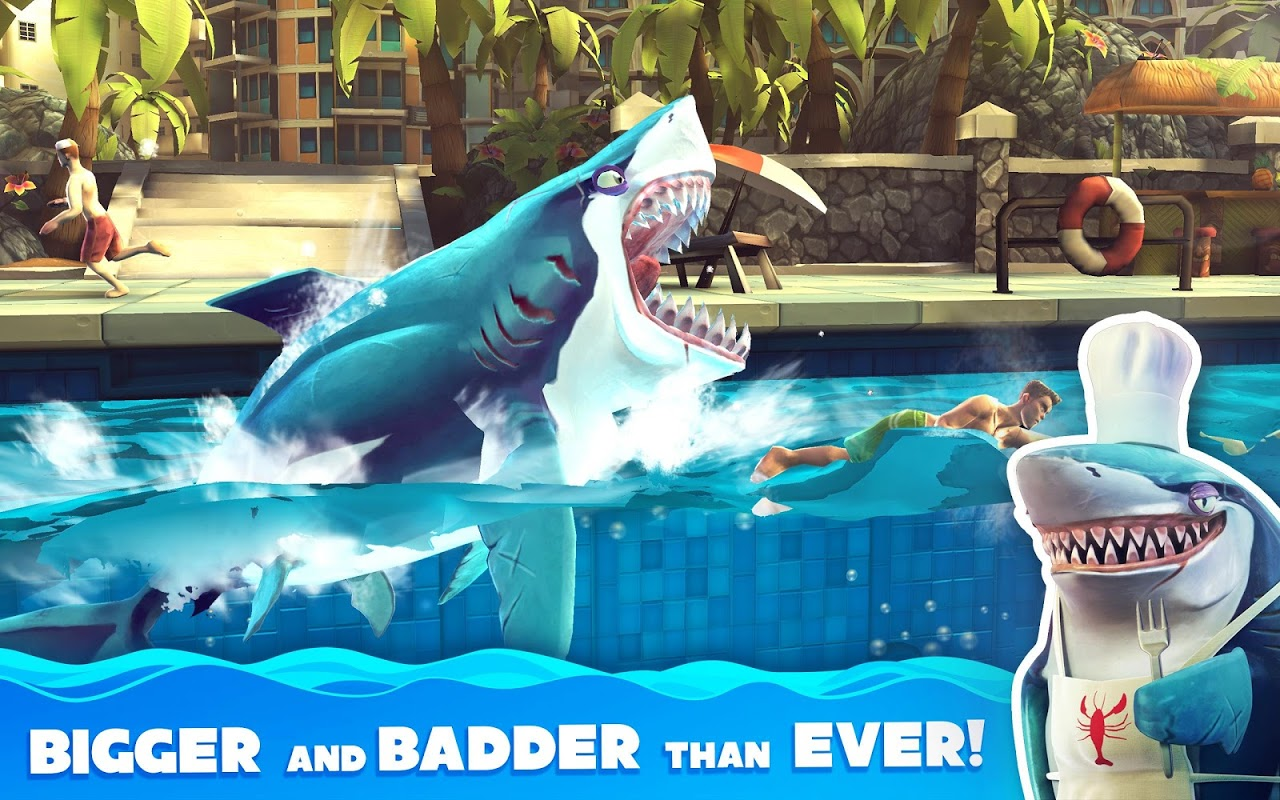 Android Hungry Shark World Screen 4
