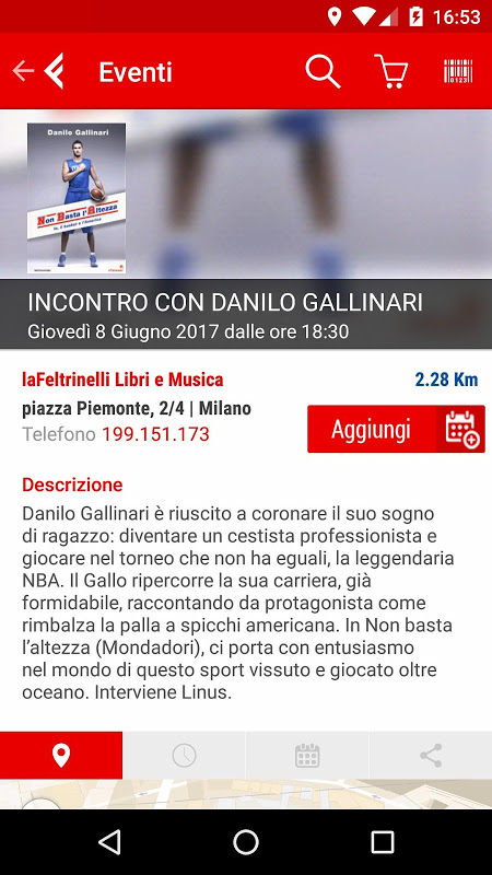 la Feltrinelli mobile 5.0 Screen 4