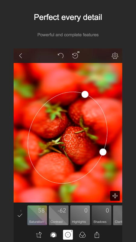 Polarr 2.5.2 Screen 1