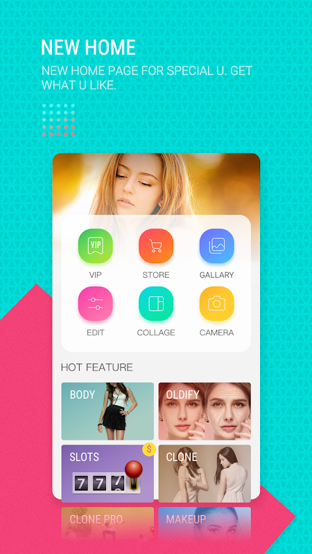 Android POLA Camera - Beauty Selfie, Clone Camera& Collage Screen 6