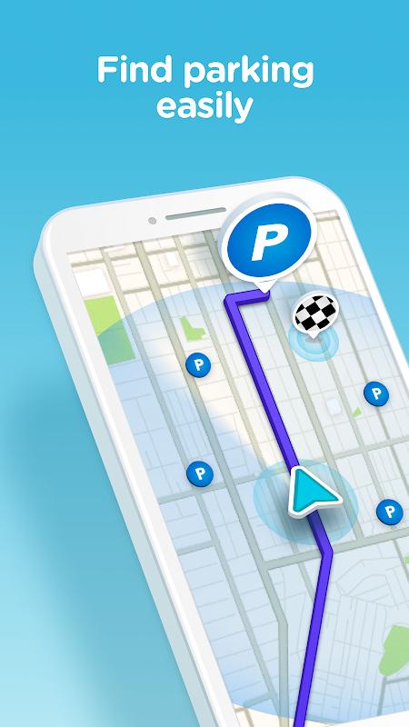 Waze - GPS, Maps, Traffic Alerts & Sat Nav 4.48.0.4 Screen 6
