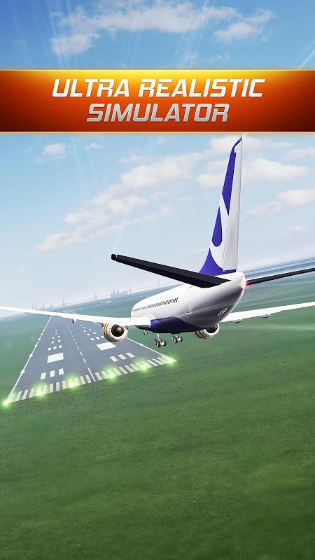 Android Flight Alert Simulator 3D Free Screen 2