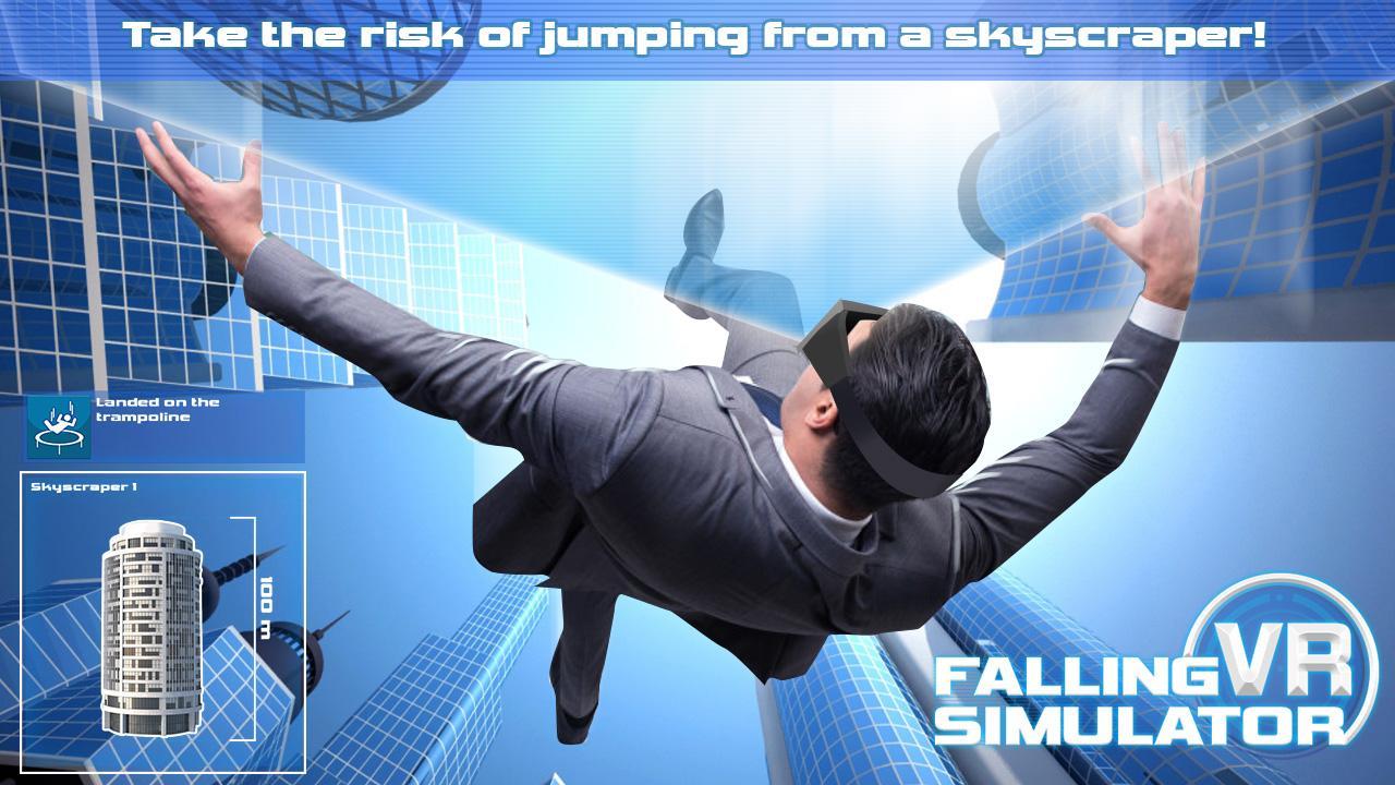 Android Falling VR Simulator Screen 2