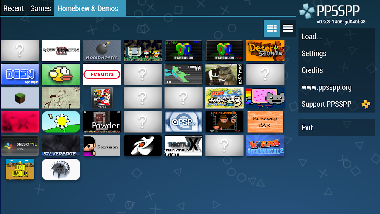Android PPSSPP Gold - PSP emulator Screen 2