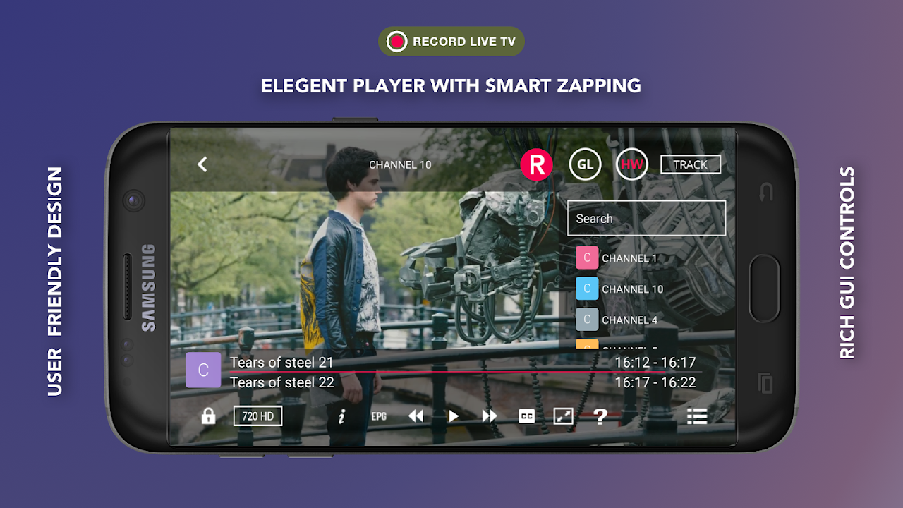 GSE SMART IPTV (Android & Android TV) 6.4 Screen 1