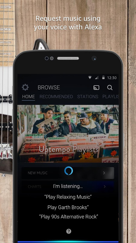 Android Amazon Music Screen 3