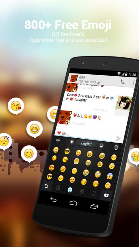 GO Keyboard - Emoji, Emoticons 2.20 Screen 10