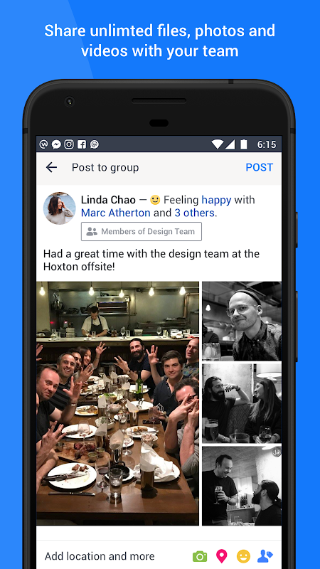 Android Workplace by Facebook Screen 4