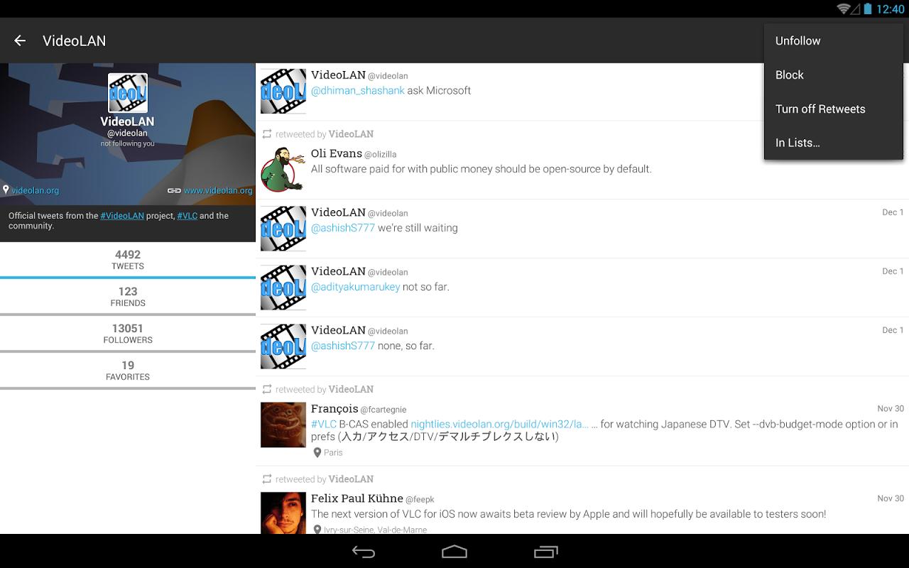 Plume for Twitter 6.26.1 Screen 3