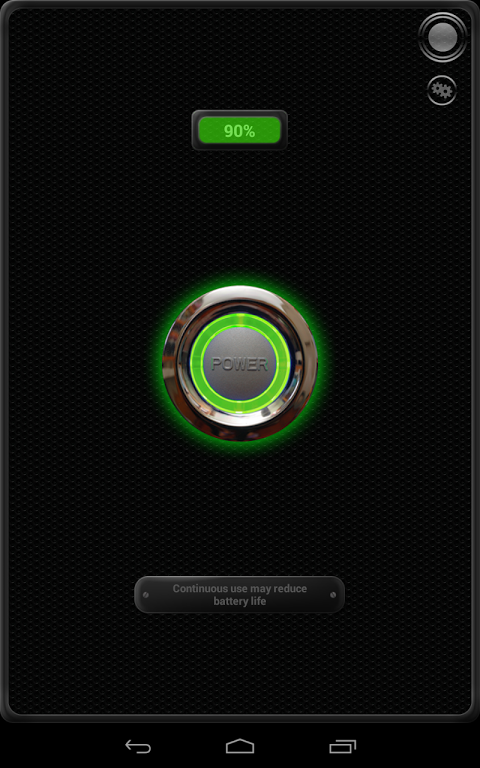 Android Torch - Tiny Flashlight ® Screen 2