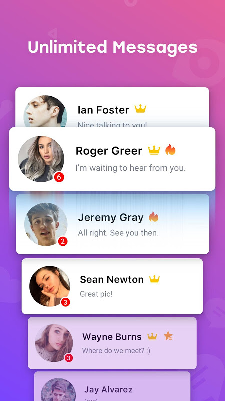 InMessage - Chat, meet, dating 2.8.7 Screen 3