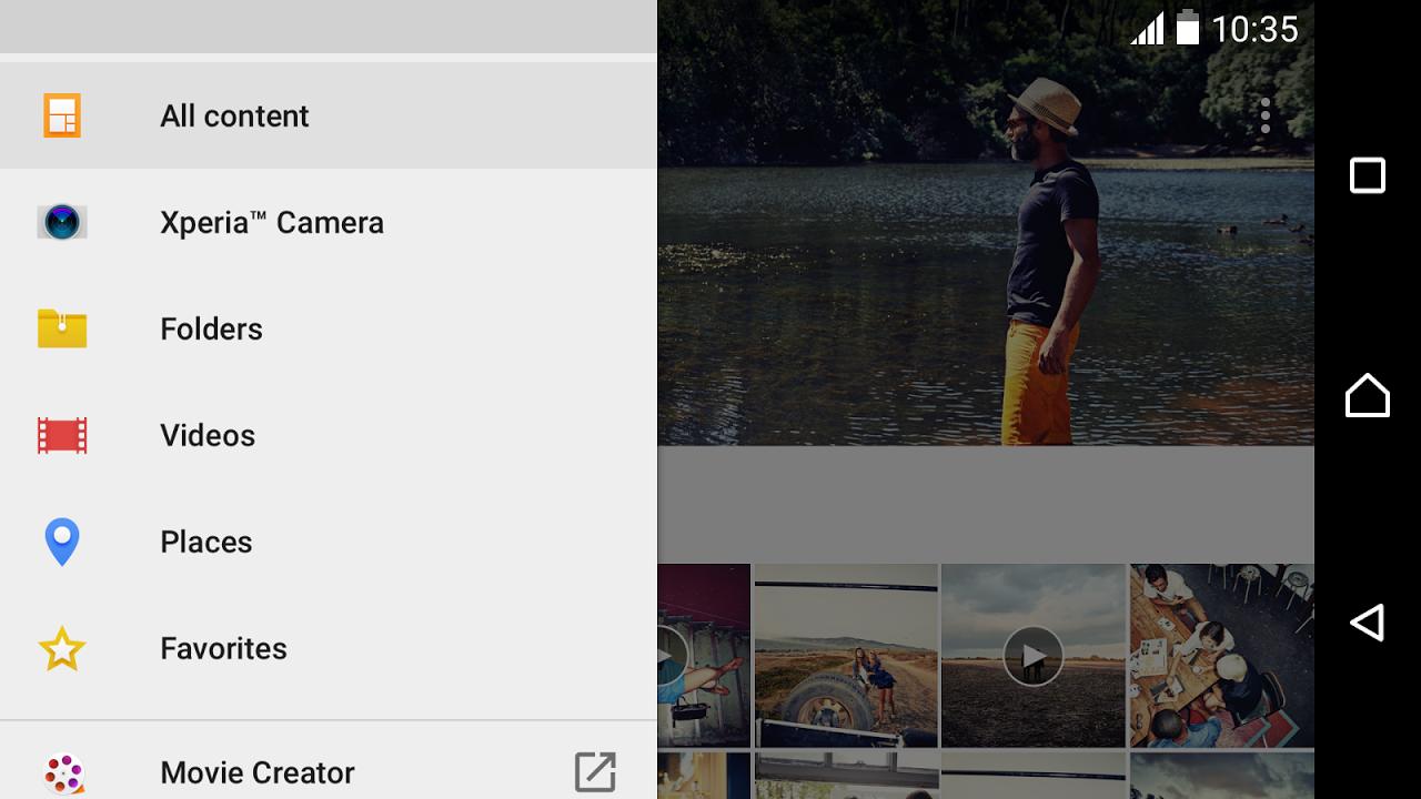 Android Album Screen 7