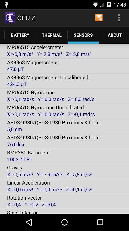 CPU-Z 1.32 Screen 5