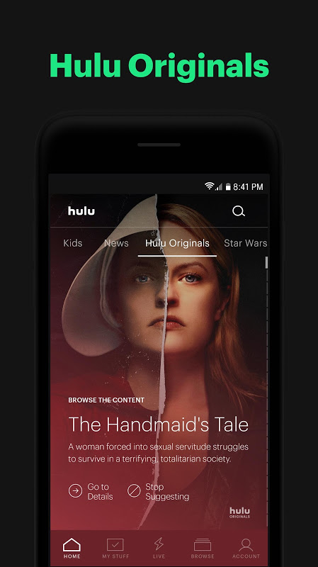 Hulu: Stream TV, Movies & more 3.51.2.307062 Screen 3