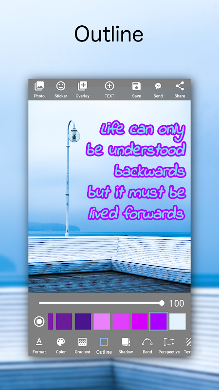 Add Text on Photo: Graphic Design with 800+ Fonts 4.2.1 Screen 3