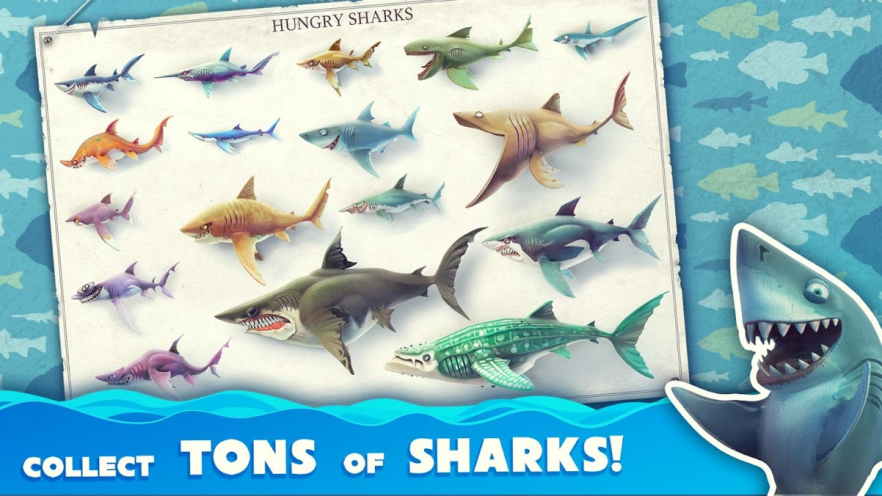 Android Hungry Shark World Screen 2