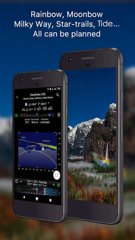 Android Planit! for Photographers Screen 2