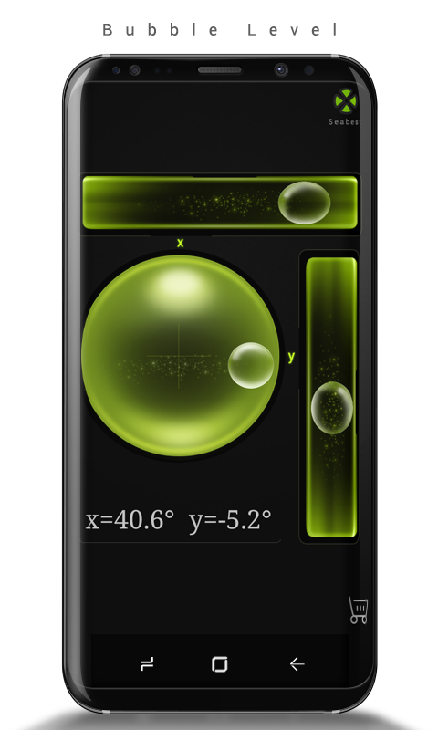 Android Bubble Level Screen 3