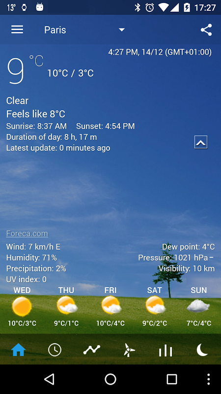 Transparent clock weather Pro 0.99.02.39 Screen 6