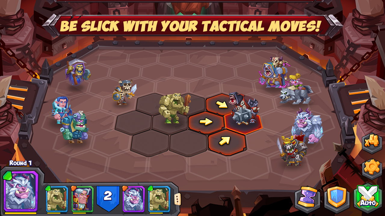 Android Tactical Monsters Rumble Arena - Tactic & Strategy Screen 5