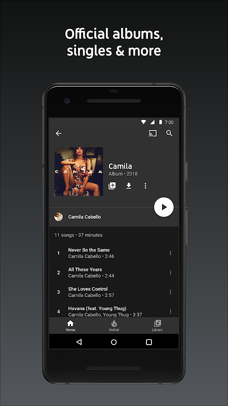 YouTube Music - Stream Songs & Music Videos 3.37.55 Screen 13