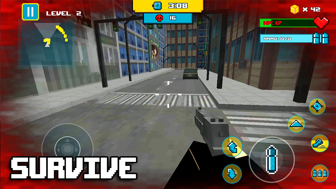 Android Block City Clan Wars Screen 1